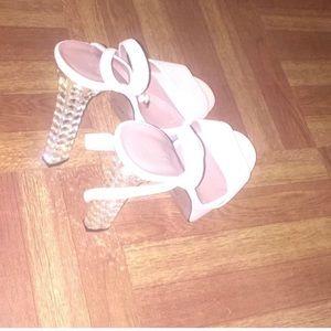 "Gucci ""Leila"" limited edition Platform stone heel"